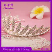 Factory supply superior quality large crown tiara