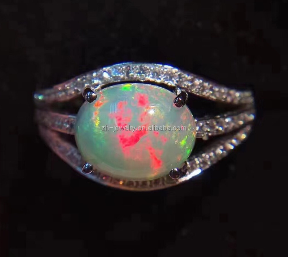 solid gold scorpion poison wedding silver opal ring