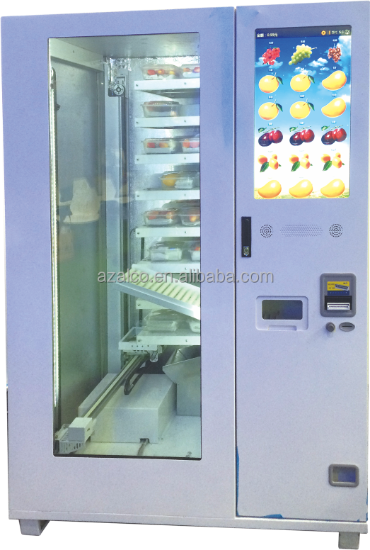 Pizza Hamburger Hot food vending machine