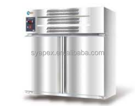 Commercial work table type wall mounted refrigerator