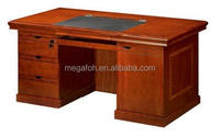 Top Grade Wooden Pattern Design Office Computer Desk/Executive Table Furniture (FOHK-1643)