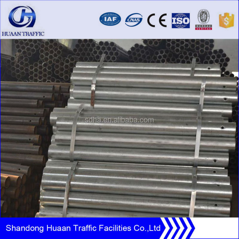 China HDG traffic barrier post with high quality