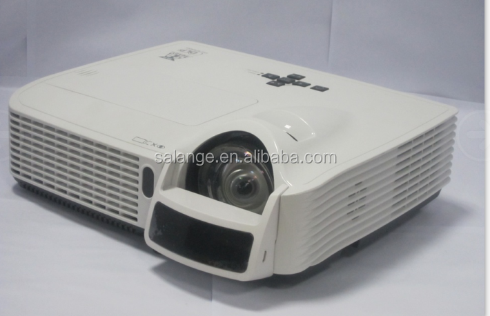 300inch data show Short throw projector Beamer shutter 3D interactive projector for education classroom
