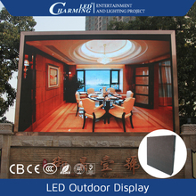 high quality iron big screen led display products advertising display for outdoor fix install use