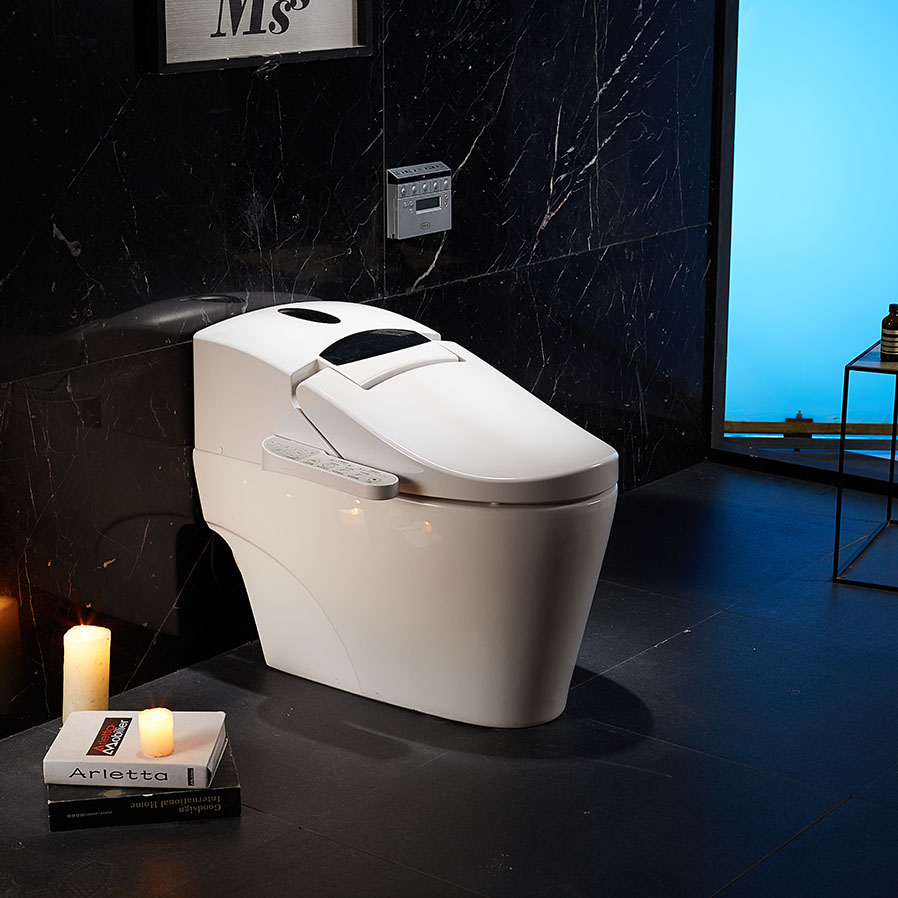 China Factory One Piece Electronic Bidet TOTO Smart Toilet ZJS-02B