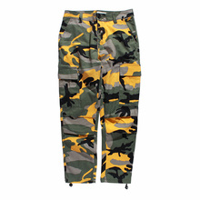 Hip-Hop Pants Hip-Hop Pants Baggy Large Pocket Camouflage Overalls Casual Pants For <strong>Men</strong> And Women