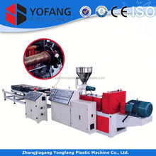 corrugated pvc pipe pvc plastic pipe production line pvc garden hose making machine