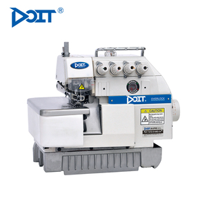 DT747F DOIT Industrial 4 Thread Flat Bed Overlock Sewing Machine Garment Making Machinery Price