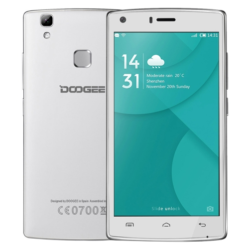 Original free sample DOOGEE X5 MAX Pro 16GB 5.0 inch 4G Smart Phone Android 6.0 MTK6737 Quad Core 1.3GHz, RAM: 2GB