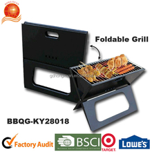 Charcoal Grills Grill Type and Powder Coated Finishing Folding Legs Barbecue grill