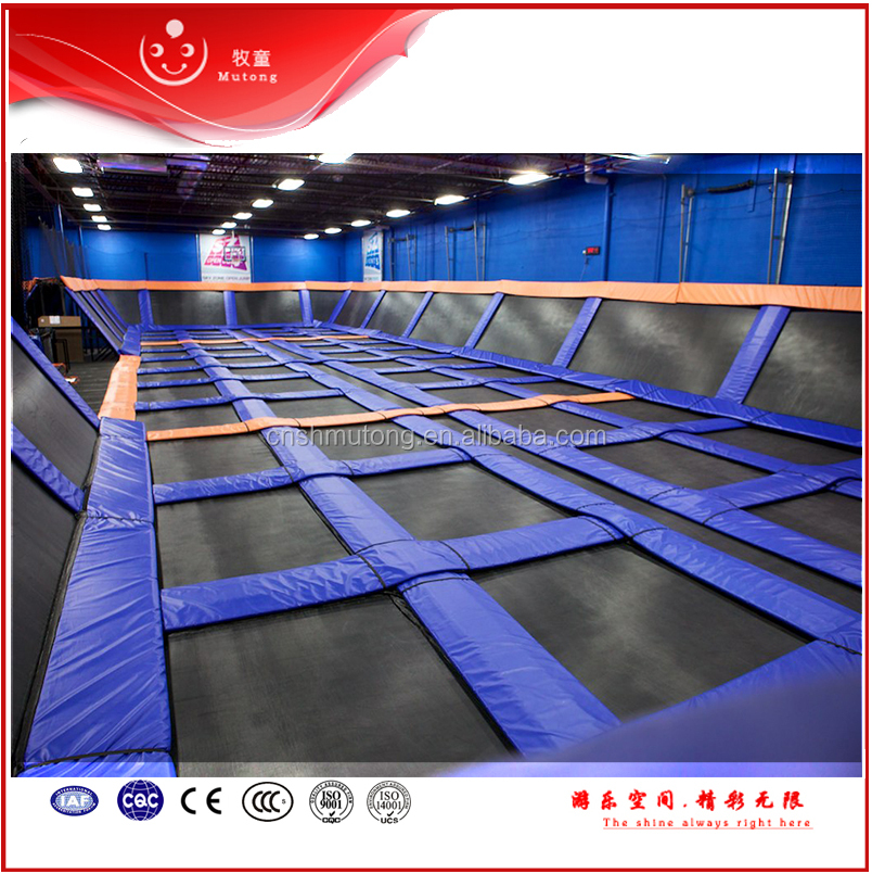 CE GS approved fitness trampoline with handle hot selling