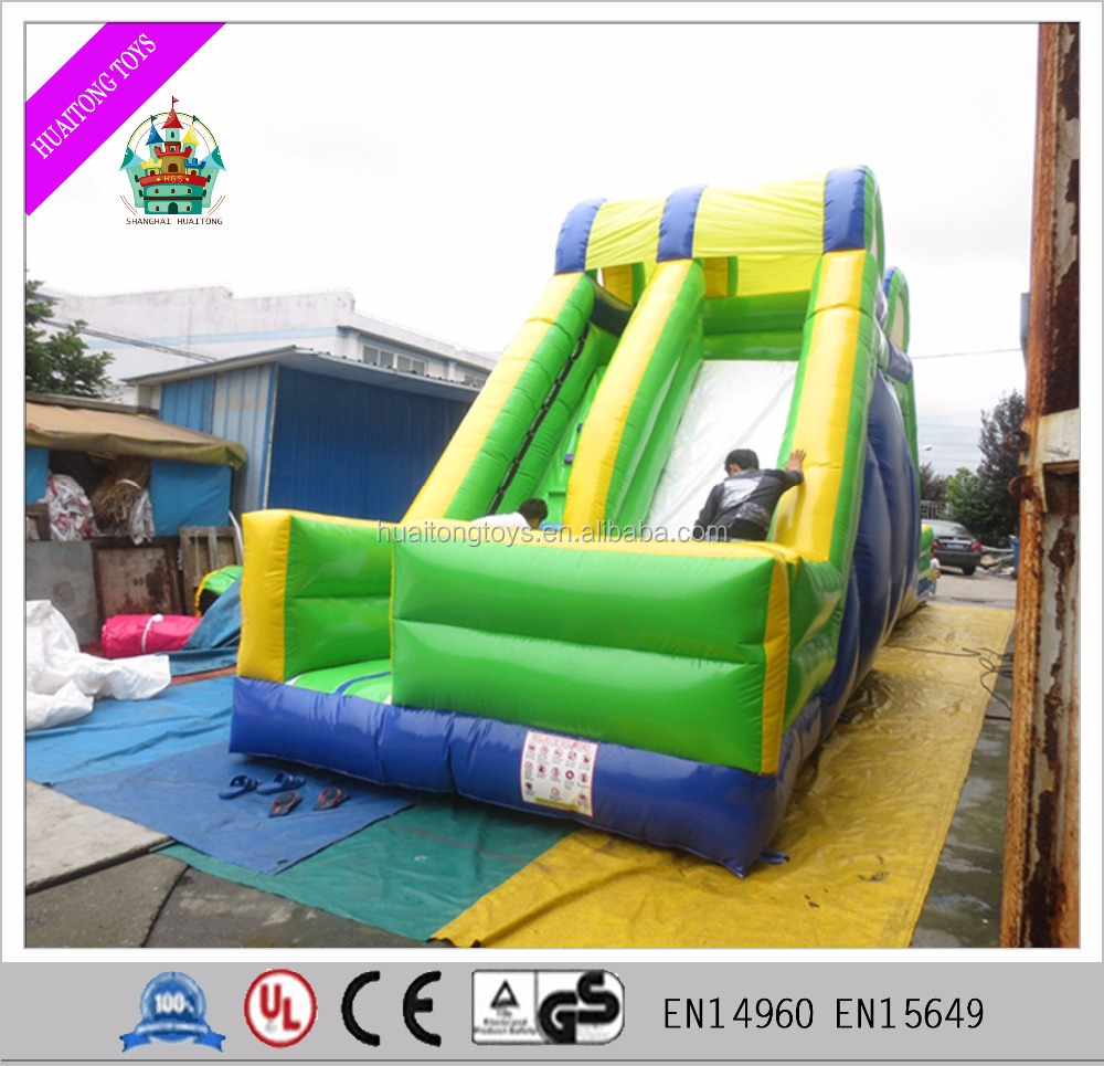 New style giant inflatable dry slide for amusement park items