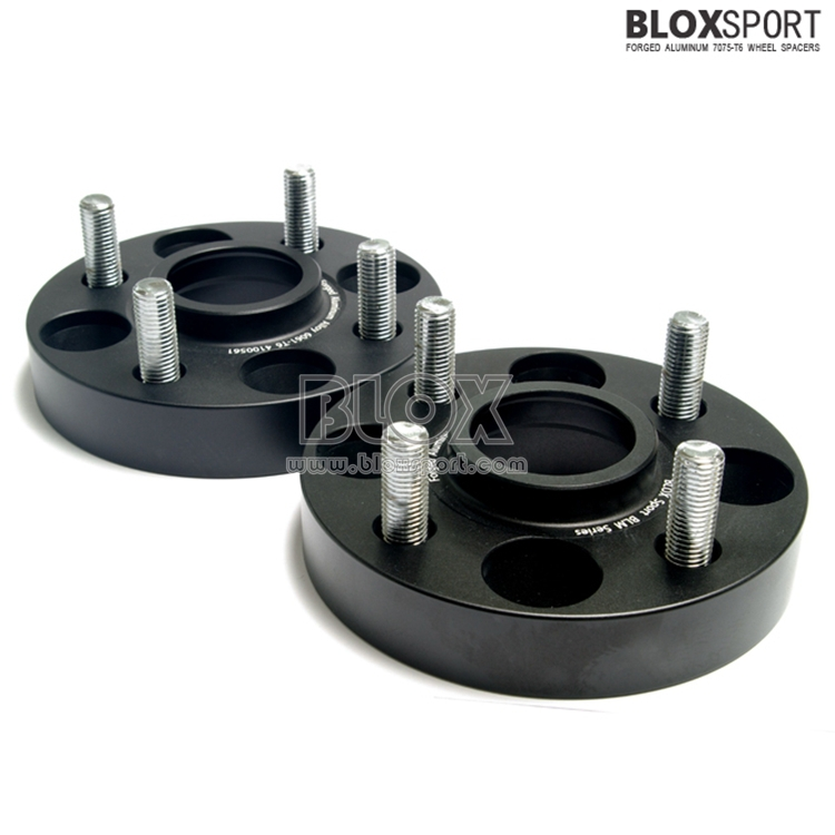 Black Anodized finished 4x100 wheel hub adapter for MG ZS