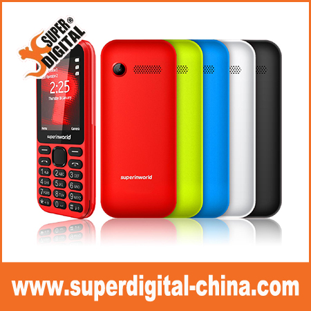 2.4 inch Cheap 3G feature phone with your brand