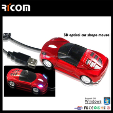 wired computer optical car mouse,racing car mouse for Bentley from Shenzhen Ricom MO7003D