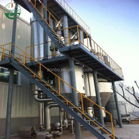 Multiple effect evaporator for magnesium sulfate crystallization,ammonium sulfate and potassium chloride crystallizer