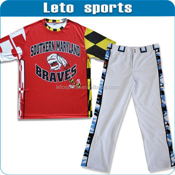 baseball tee shirts wholesale & baseball pant & softball uniforms women