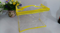 Travel clear private label wholesale pvc cosmetic bags