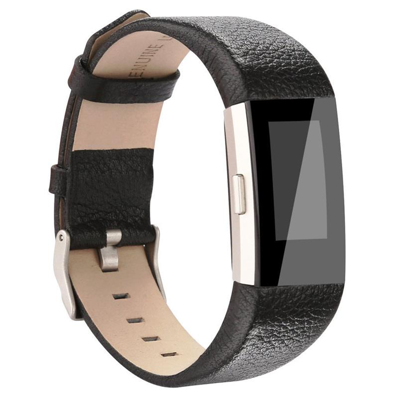 For Fitbit Charge 2 Genuine Leather Wrist Strap for Fitbit charge2 Watch bands replacement accessory