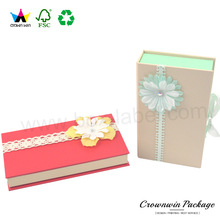 Hot Sale Custom Cardboard Luxury Wedding Jewelry Gift Box