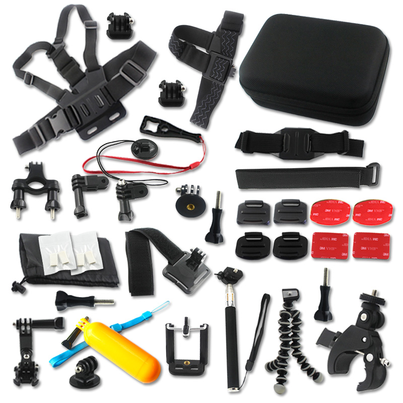 Hottest high quality cheapest flexible tripod selfie sticks accessories set for gopro hero 4