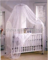 China manufacturer polyester baby mosquito net for swing bed