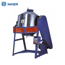Tumbling type mixer for plastic or food powder and granules