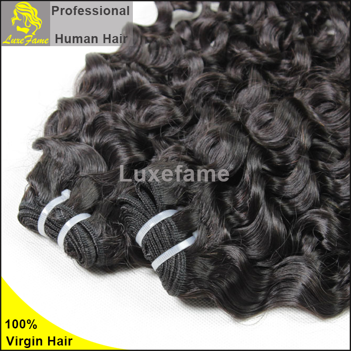 Luxefame Cheap Full And Thick Remy Peruvian Virgin Hair Wholesale Natural Curly Italian Curl Human Hair Black