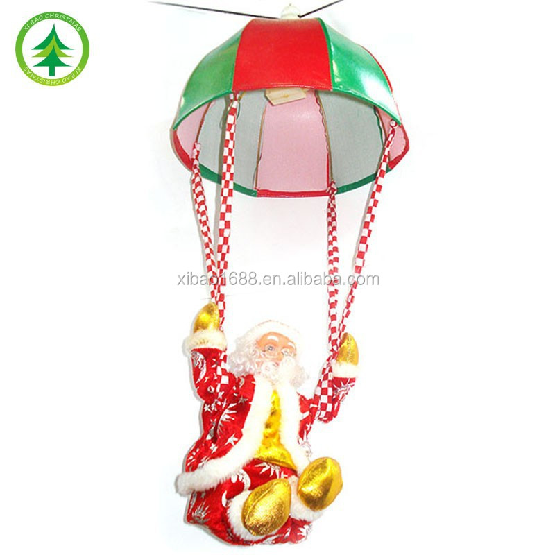 Xibao Brand Hotsale outdoor christmas santa claus figurine doll toy