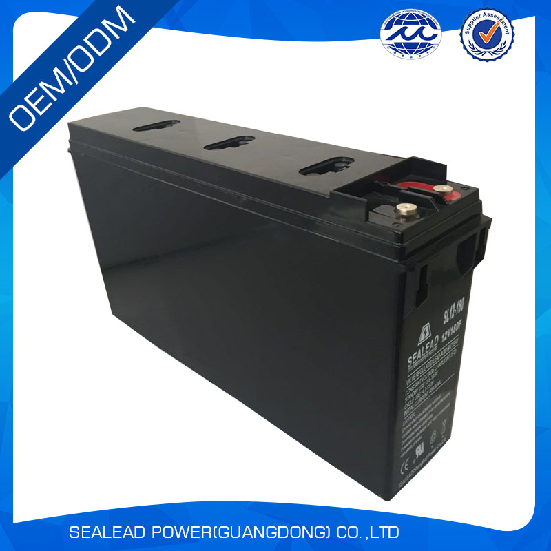 Low price 12v 180ah solar battery for railway atation front terminal battery