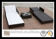 New product factory directly rattan daybed with canopy
