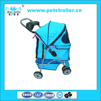 2016 New arrival collapsible pet stroller/pet trolley/pet travel trolly