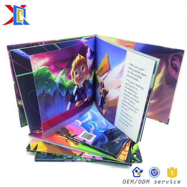 Custom Child Books Paperback Perfect Binding 3 Hardcover Book Printing