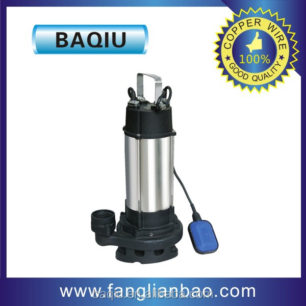 stainless stell submersible waste water pump