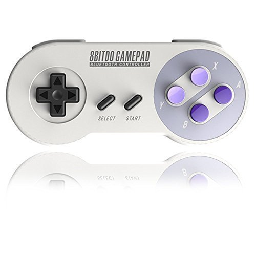 Classic 8bitdo SNES30 bluetooth wireless Gaming Joystick controller for IOS /Android / Nintendo Switch Gamepad