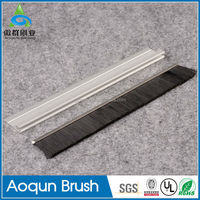 Nylon Bristle Sealing Weather Industrial Dust Proof Door Seal For Sliding Door