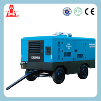 Good Quaity Portable Diesel Engine Driven Air Compressor for Cummins engine LGCY-22/20