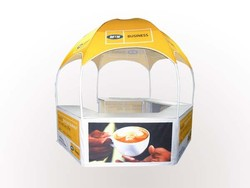 hexagonal promotional gazebo / dome marquee /display counter