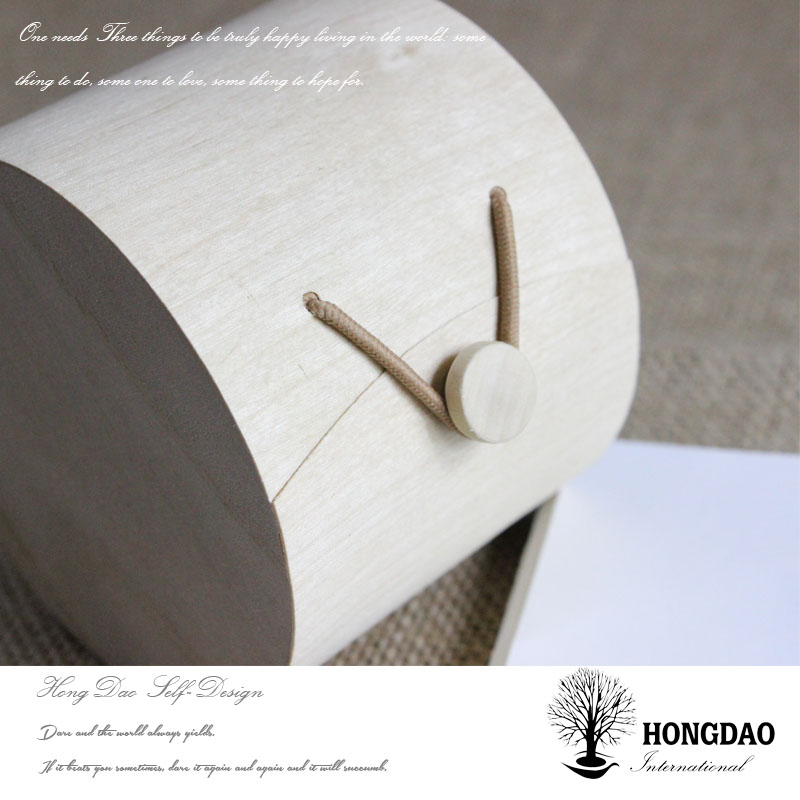 HONGDAO wholesale unfinished wooden packaging boxes to decorate for macarons