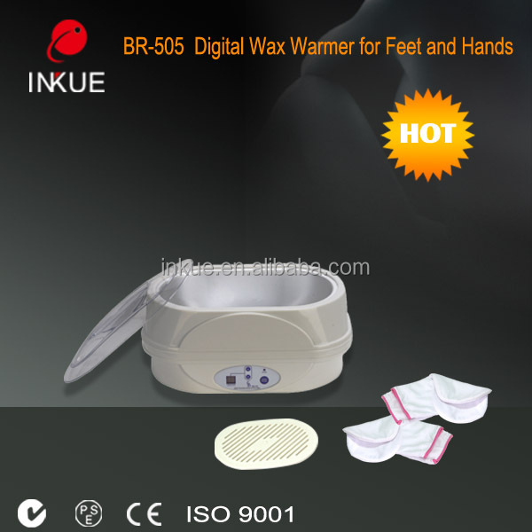 Best price portable digital paraffin wax heater for foot and hand use
