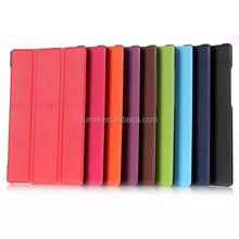 For Lenovo Tab 2 A8 Top Sale Flip Stand PU Leather Protective Case Cover