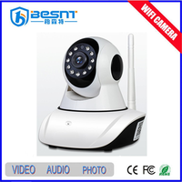 Smart home security mini robot onvif ip camera hd 720p wifi ip camera wireless remote control from mobile phone BS-IP27V