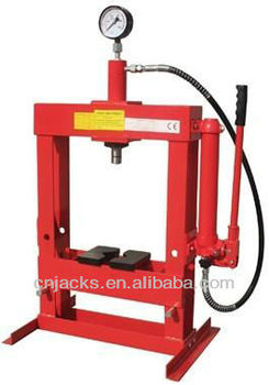10T Hydraulic Bench Shop Press with Gauge