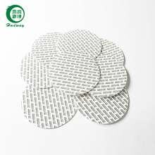 Round pressure sensitive seal liners for food bottle cap seal
