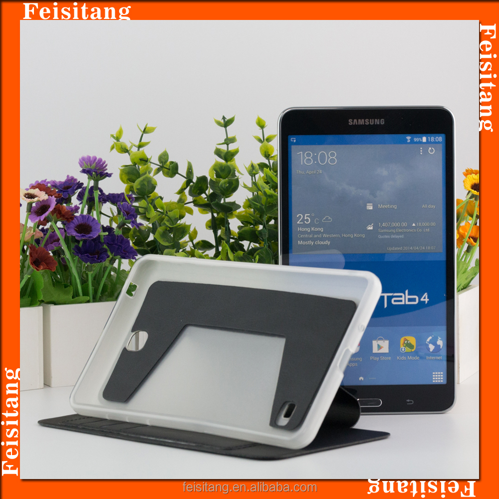 "Digital electronic products 7 ""tablet case for Samsung galaxy TAB 4 tablets holster 7 inches"