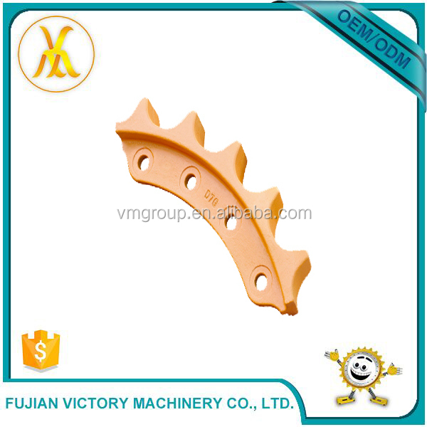 Mini Excavator Chain Dozer Bulldozer Spare Parts Sprocket For Sale