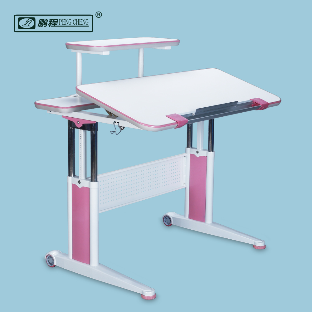 New Design Mobile Bedroom Lifting Up Baby Study Table