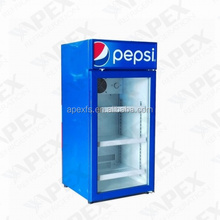 With canopy counter top display cooler commercial refrigerator
