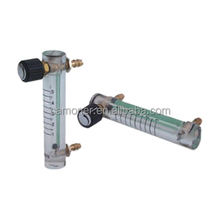Adjustable Oxygen Flow Meter Plastic Flow Meter