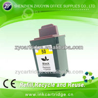 refillable black ink cartridges for lexmark L50